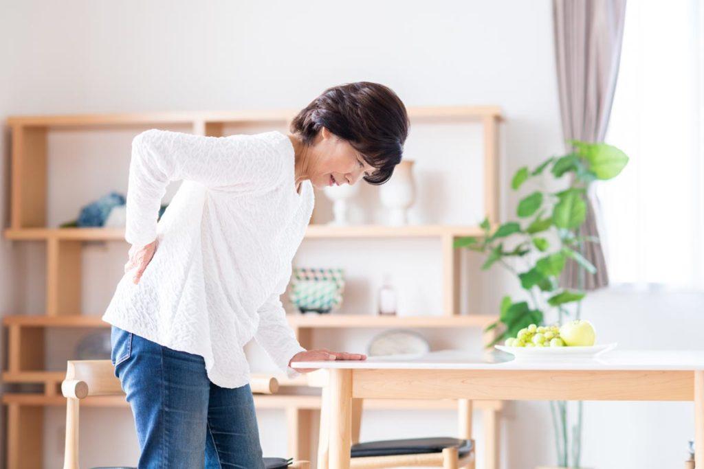 腰痛でよくある8つの原因。②